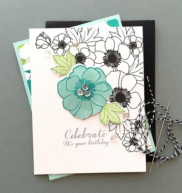 B w bold blossoms card1 original