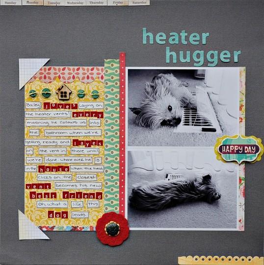Heater hugger
