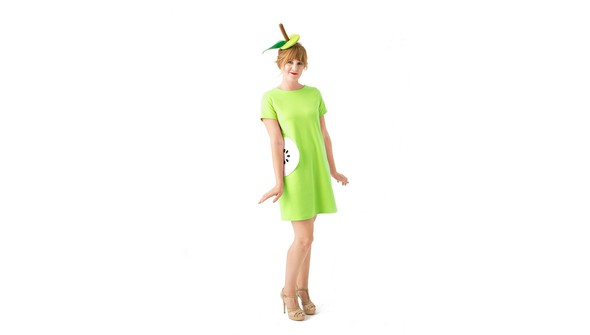 Green dress product listing costume photo2new original original