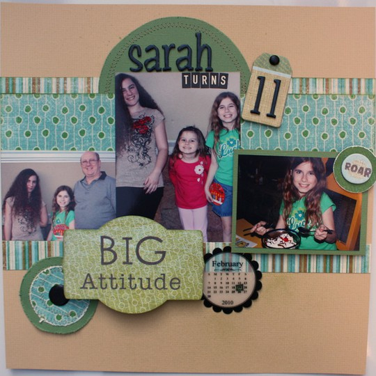Sarah turns 11