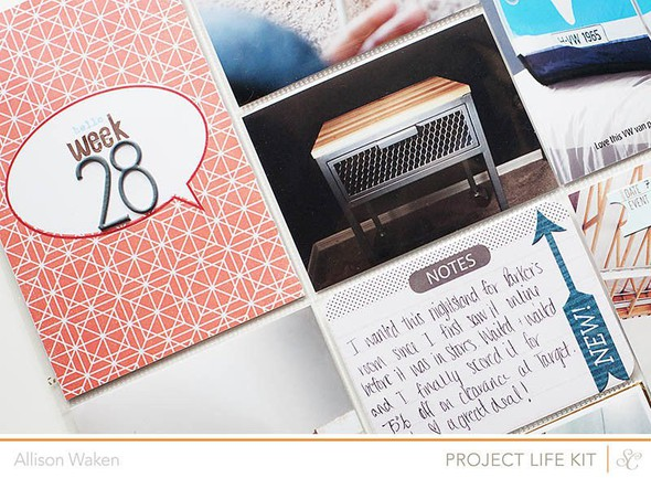 Allison waken project life week 28 4