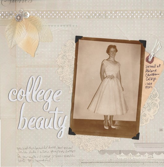 College beauty original