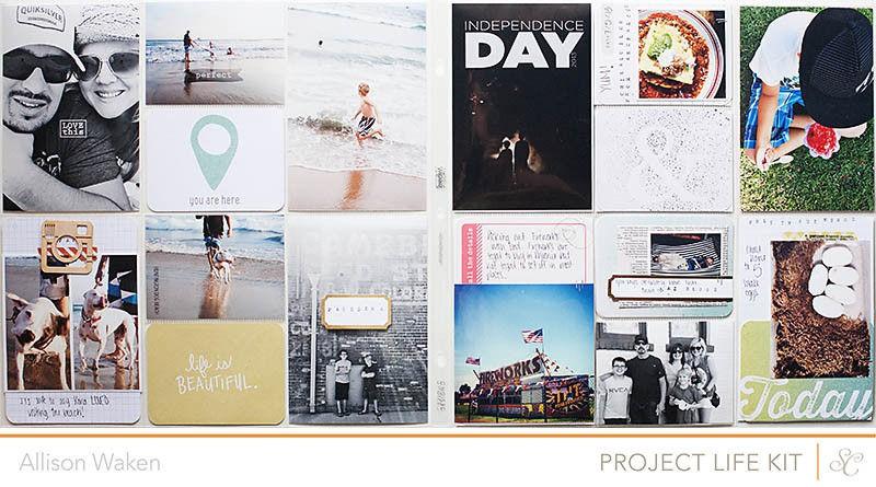 Allison waken project life week 27 1