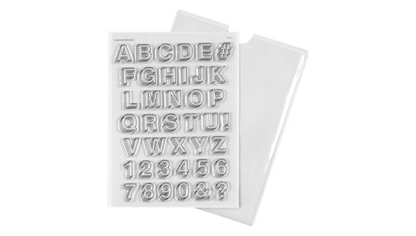 133902 6x8 alphabetstamptripleshadow slider original