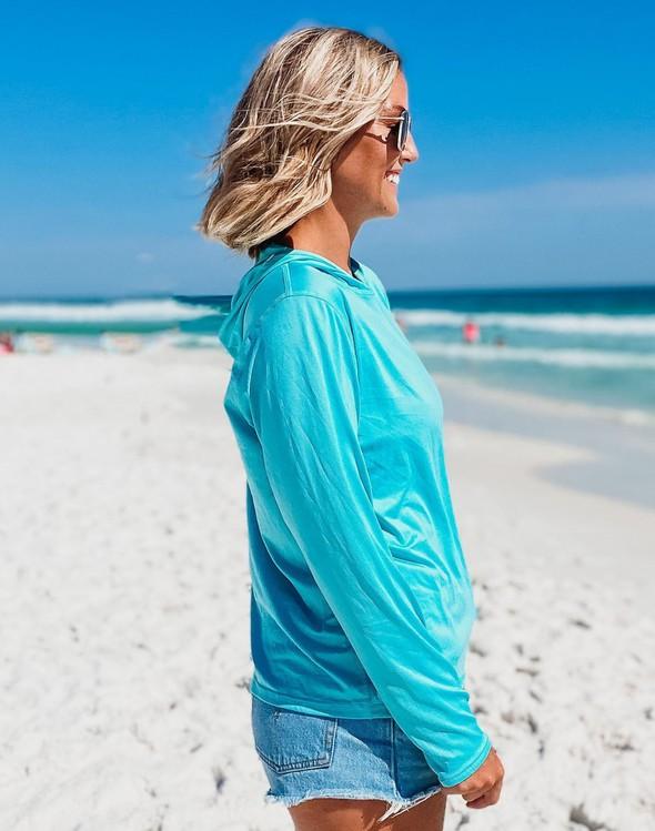 152539  beach happy hooded sun shirt seafoam women slider 2 original