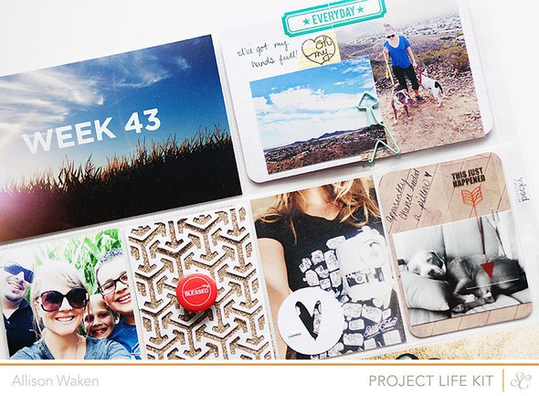 Allison waken project life week 43 4