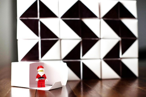 Aftb diy geometric advent calendar 7