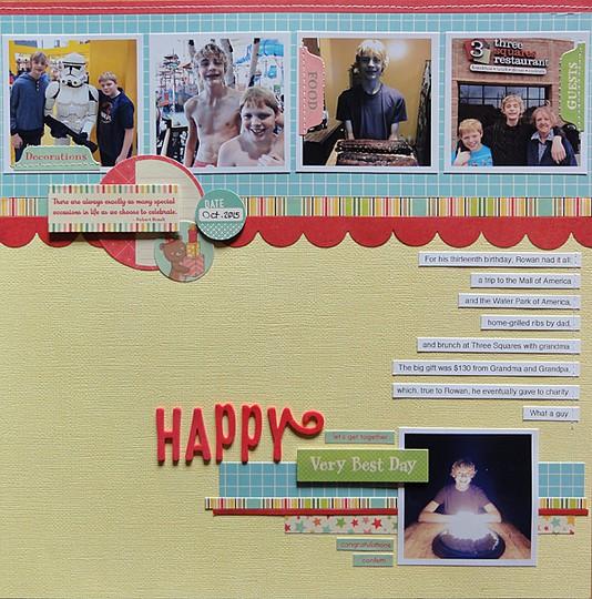 Happy by jennifer larson original