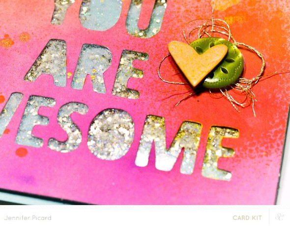 You are awesome close up