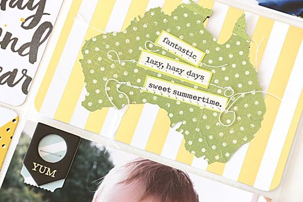 Australia day australia by natalie elphinstone original
