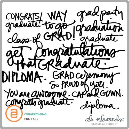 ali edwards design inc congrats grad