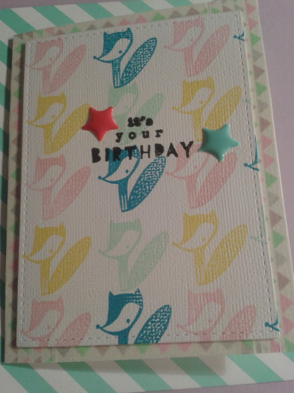 Fox b.day card
