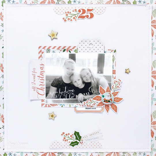 All i want for christmas layout by anita bownds %25281%2529 original