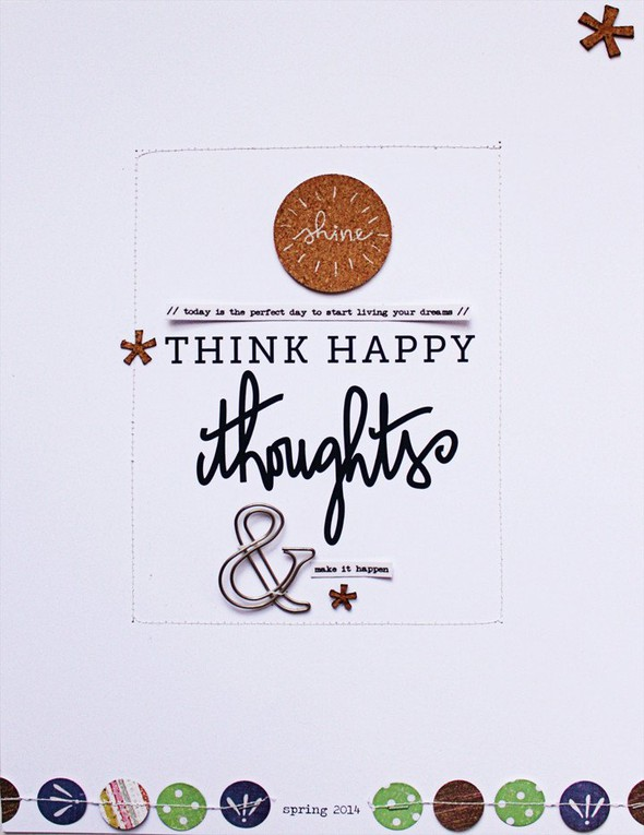 Think happy thoughts right