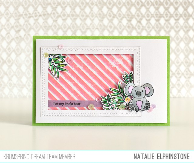 Koala card by natalie elphinstone original