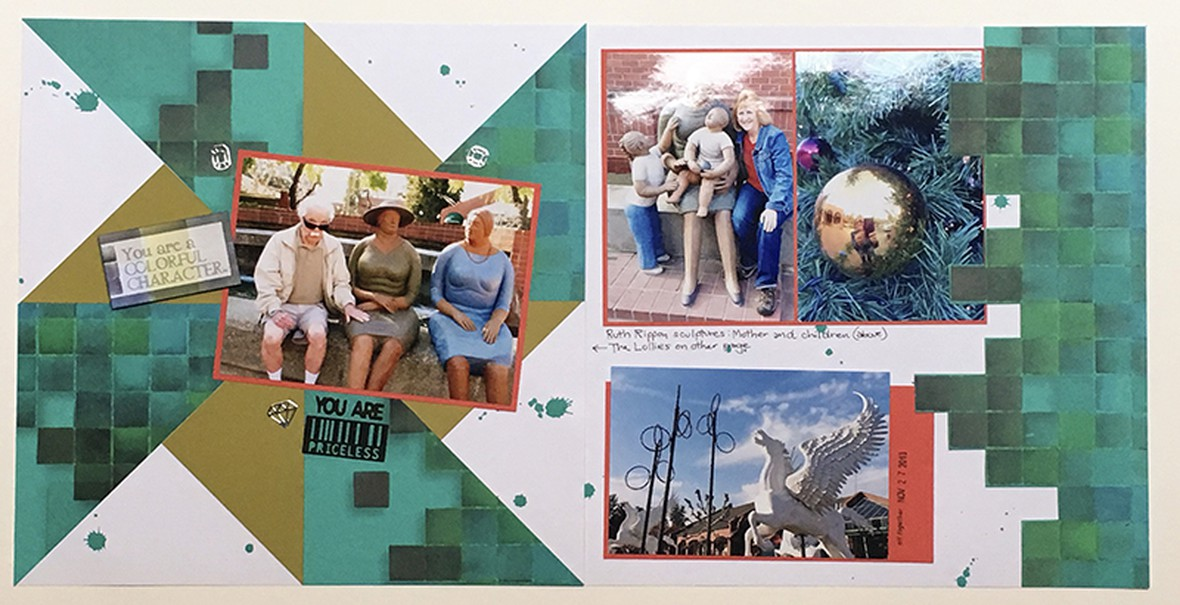 Pinwheel collage bpc original