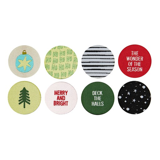 Picture of December Daily® 2019 Fabric Embellishments