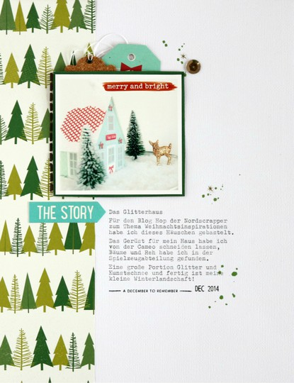 Das glitterhaus scrapbooking layout 5 original