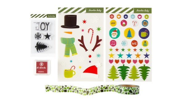 Ae dec daily 2017 kid mini embellishments original