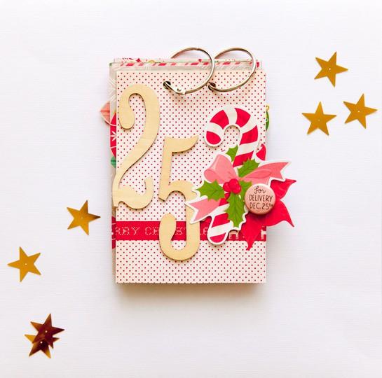 Christmas mini album 2013 by evelynpy