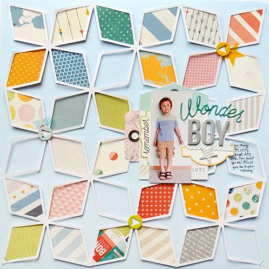 Wonder boy by paige evans original