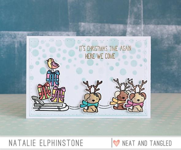 Reindogs by natalie elphinstone original