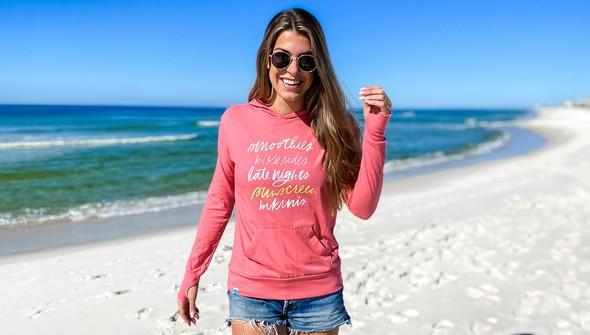 137604 beach trip essentials pullover hoodie women melon slider3 original
