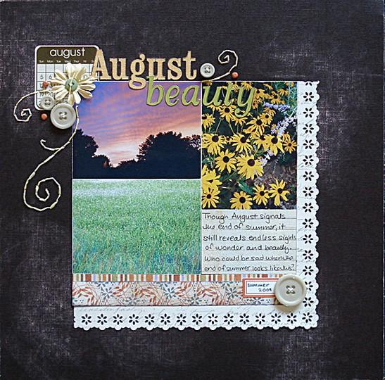 August beauty