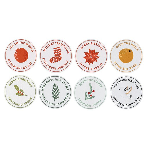 Picture of December Daily® 2021 Fabric Holiday Patches