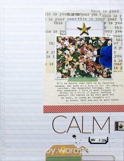 Calm 1 original