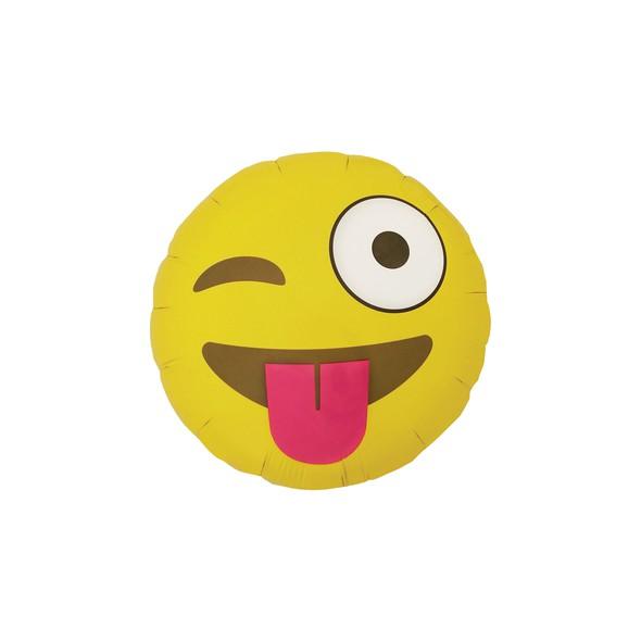 Emoji template 0000 emoji winking balloon original