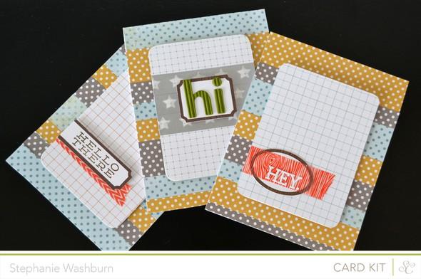 Hey notecard set