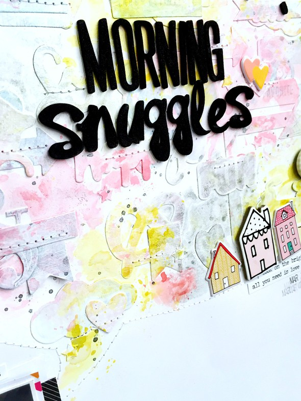 Morning snuggles layout   cu  title and speech bubble original