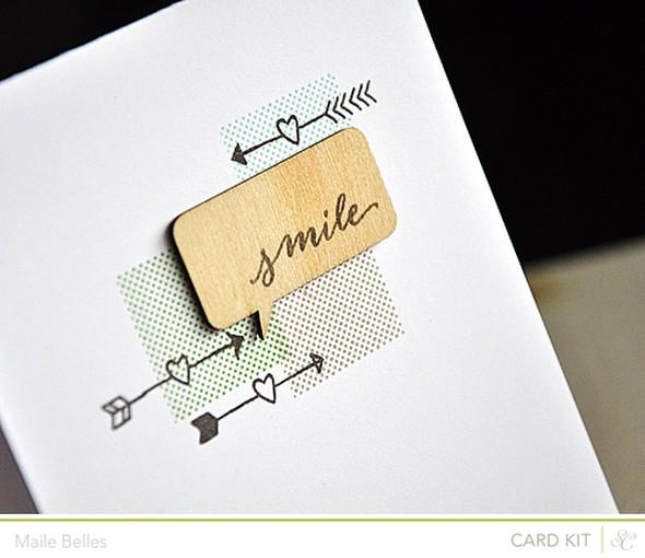 Smile card detail