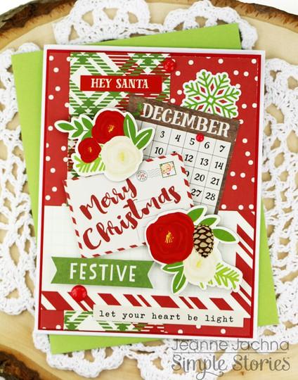 Festive merry christmas original