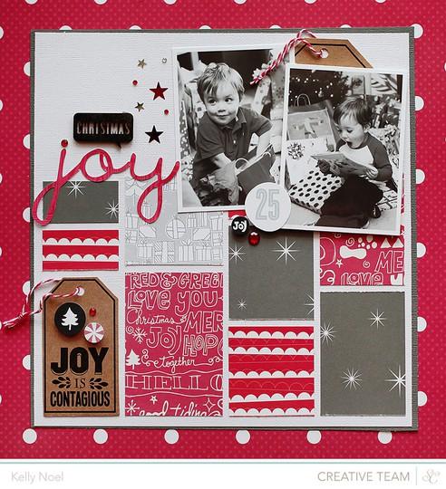 Christmas joy   studio calico's magical collection   kelly noel
