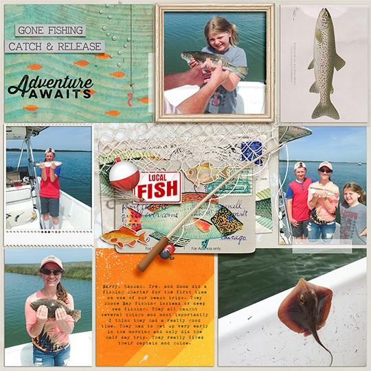 Web may  charter fishing trip original