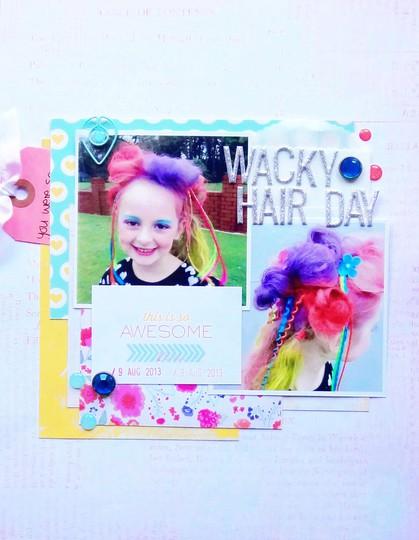 Wacky hair dayrl