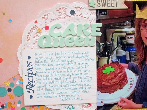 Cake queen journaling betsy gourley