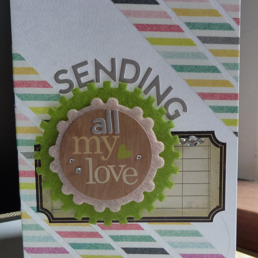 Sending all my love card original
