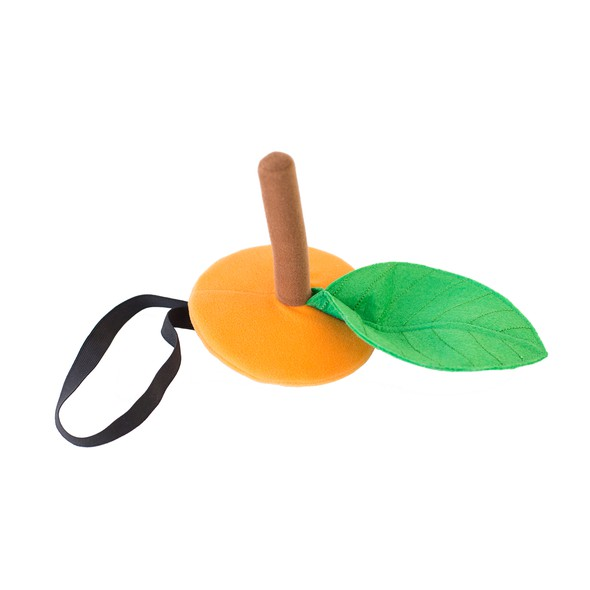 Orange hat product listing flat lay original