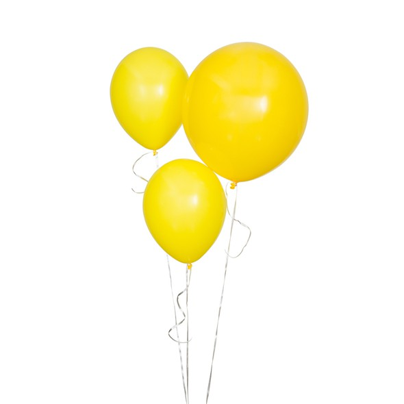 Sdiy shop balloons round yellow original