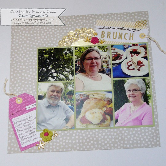 Scrapbook brunch 1