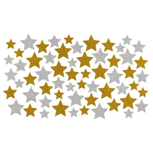 Picture of December Daily® 2021 Cardstock Glitter Stars