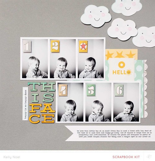 This face   studio calico penny arcade kit   kelly noel