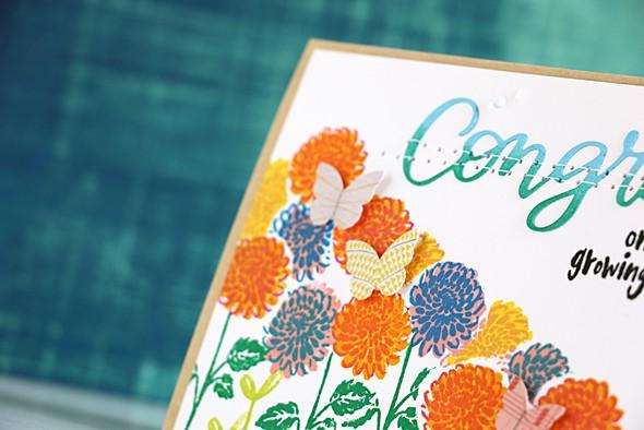 Flower congrats detail original