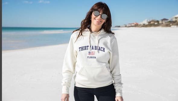 134908 thirtya beach usa hooded sweatshirt women cream slider1 original
