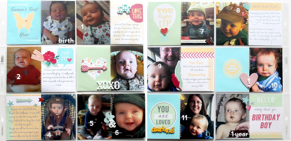 Eamon's first year full