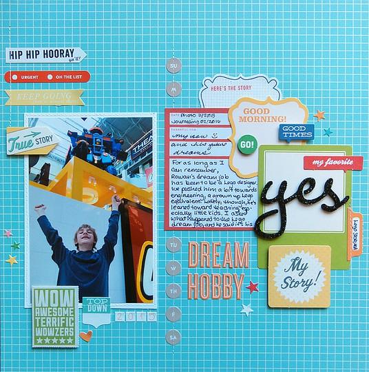 Dream hobby by jennifer larson original
