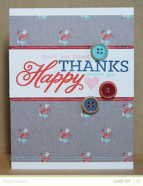 Rwerlich happy thanks card